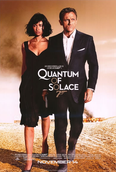 Джеймс Бонд 007: Квант милосердия / James Bond 007: Quantum of Solace
